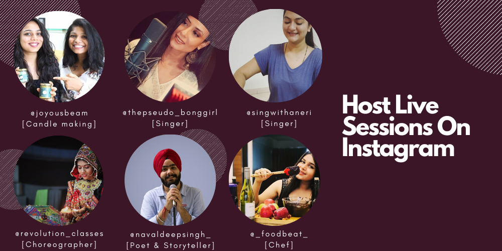 host live sessions on instagram