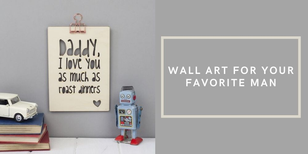diy father's day wall art