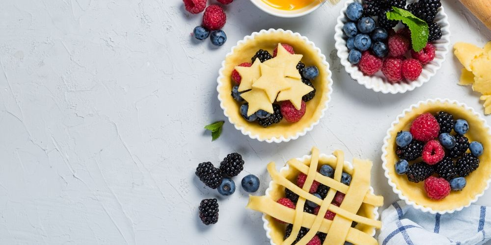4th of july berry pie desserts