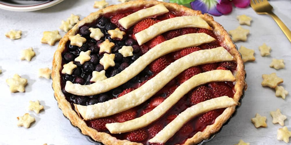 berry pie 4th of july special
