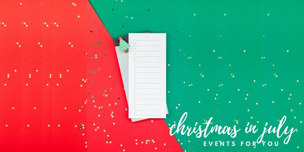 christmas in july events